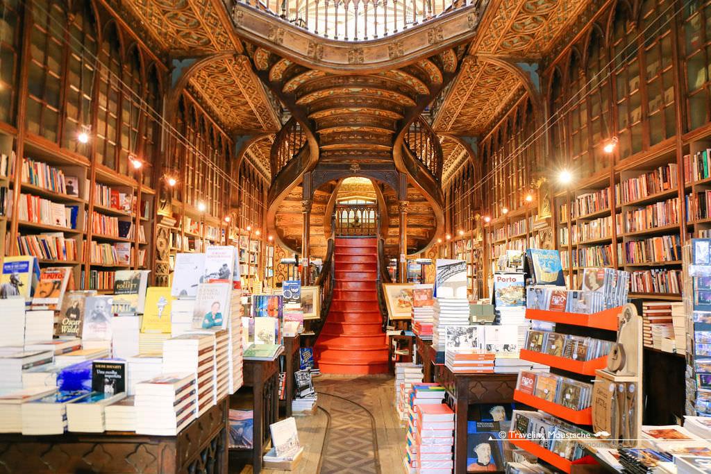 葡萄牙旅遊 波爾圖/波多,世界最美萊羅書店與迷人花磚(2018年更新)