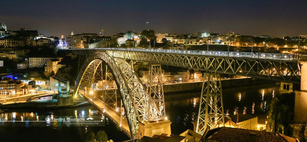 葡萄牙旅遊 波爾圖/波多,夜遊聖本篤車站與路易一世大橋 (含Porto交通攻略)