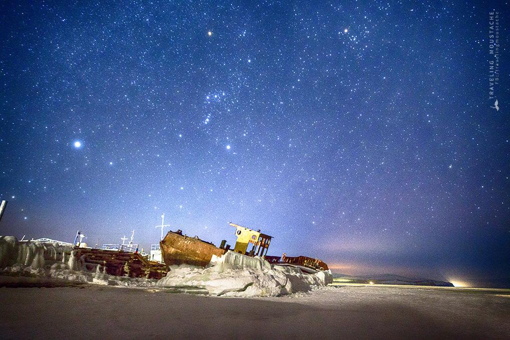 貝加爾湖廢墟碼頭