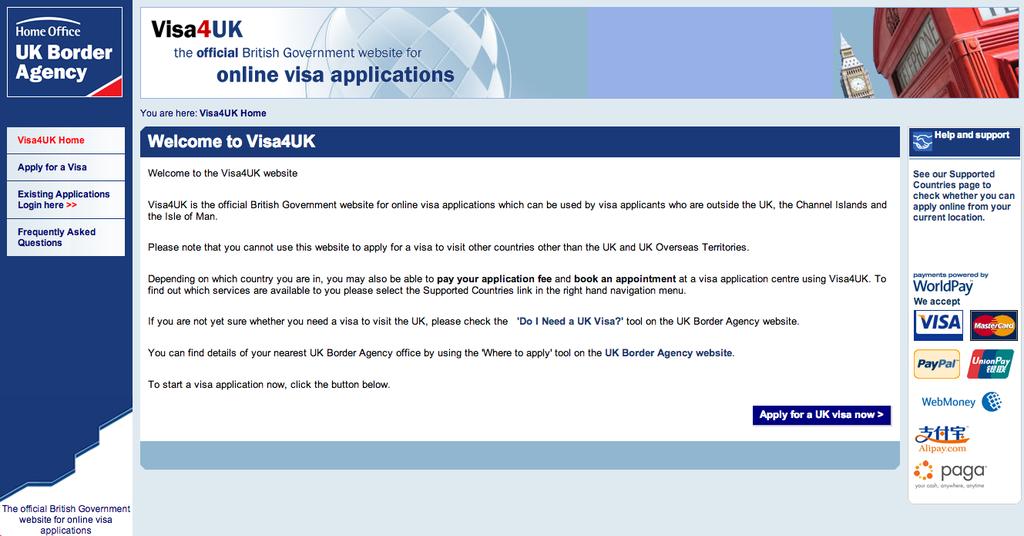 英國留學|英國Tier4學生簽證, 申請表格填寫範例