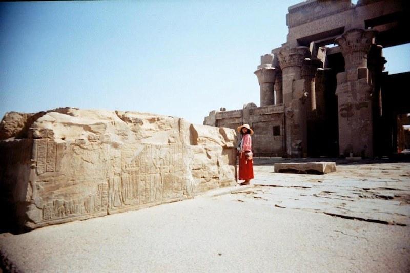 埃及旅遊|尼羅河遊輪之Kom Ombo神殿,挑戰埃及眼線!