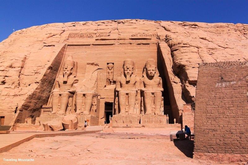埃及旅遊|阿布辛貝,探訪高富帥拉美西斯二世與他的一生摯愛
