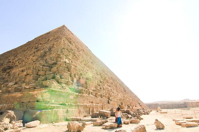 埃及旅遊|金字塔一日遊,Giza金字塔之謎——人面獅身像與駱駝