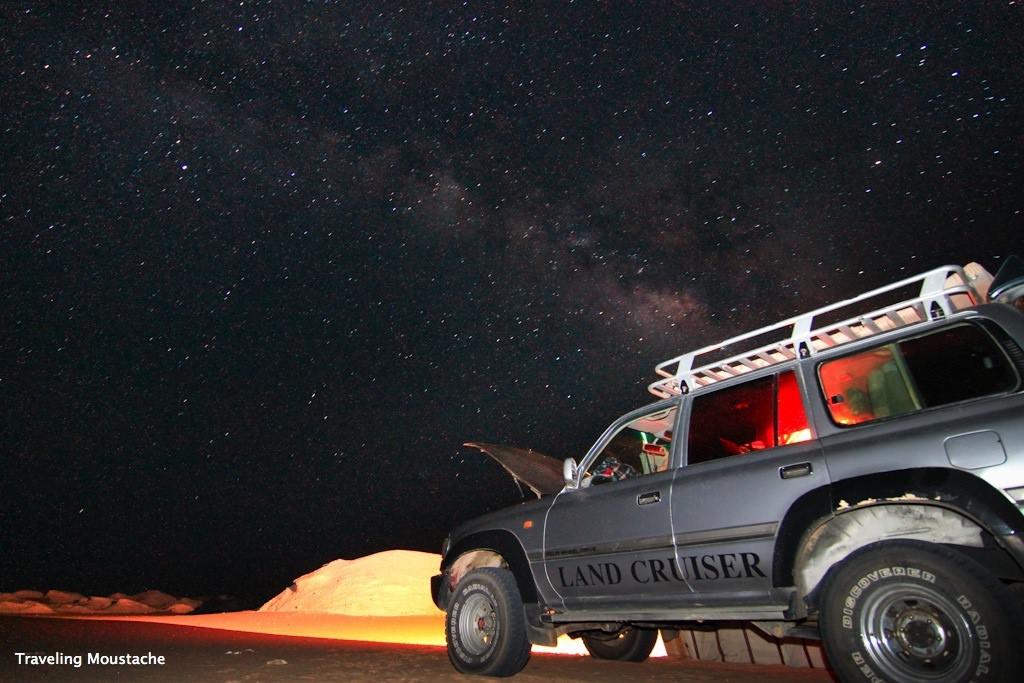 埃及旅遊|黑白沙漠,香菇雞岩石與夢幻星空