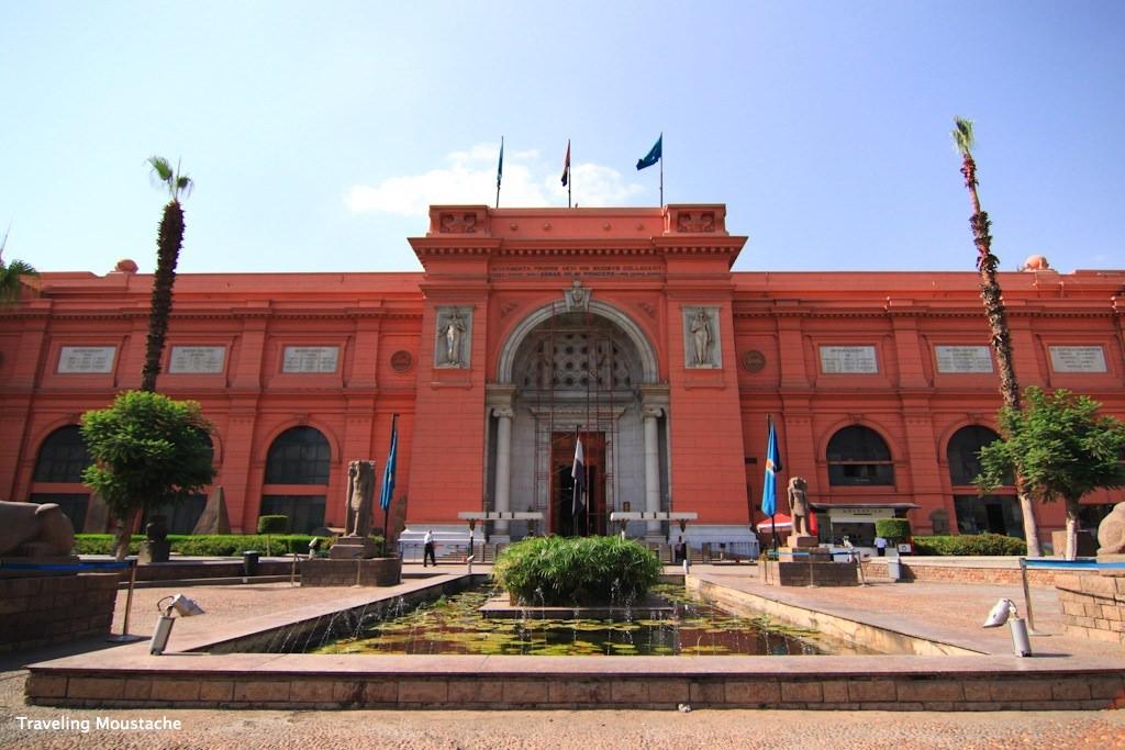 埃及旅遊|開羅考古博物館