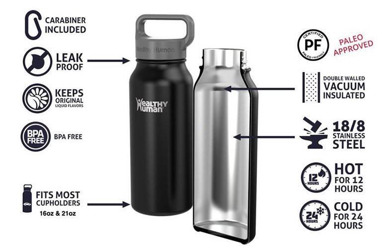 Healthy Human保冷保溫瓶