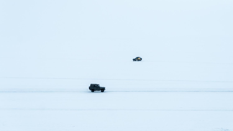 貝加爾湖_大雪