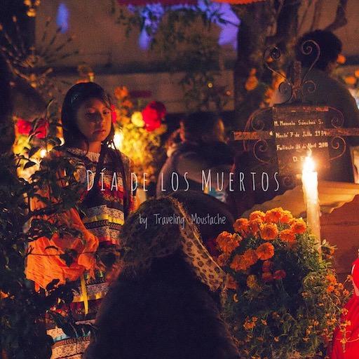 墨西哥亡靈節 瓦哈卡 墓園守夜